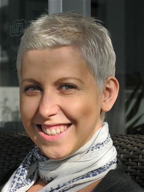 hairstyles for hair growing in after chemo 5 months after chemo flickr photo sharing