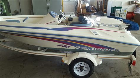 sea ray jet boat f 14 sea ray sea rayder f14 1996 for sale for 2 500 boats