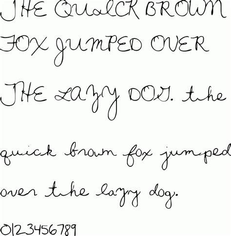 printable cursive fonts free penmanship downloads pandametr
