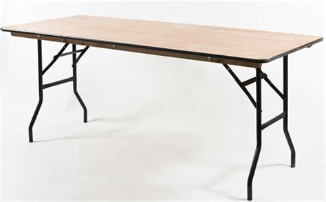 Wooden Trestle Table by Trestle