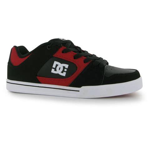 blitz shoes dc blitz skate shoes mens black trainers sneakers ebay