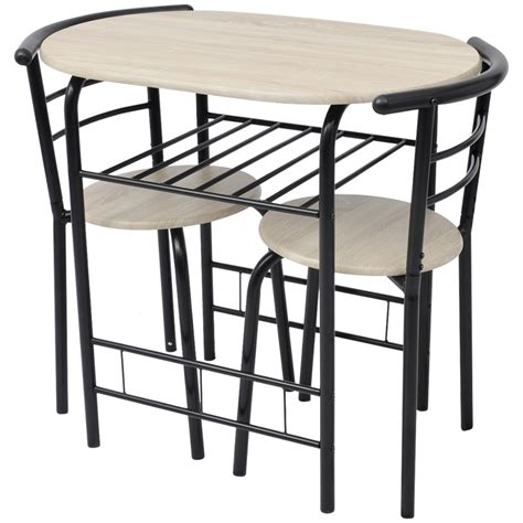 Kitchen Bar Table And Stool Sets Breakfast Bar Table And 2 Chairs Stools Set Dining Room Kitchen Bistro Coffee Ebay