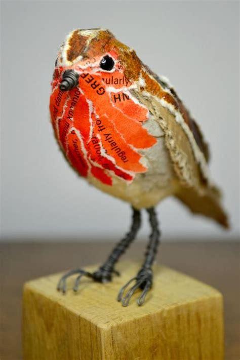 How To Make A Paper Mache Bird - 25 best ideas about paper mache on papier