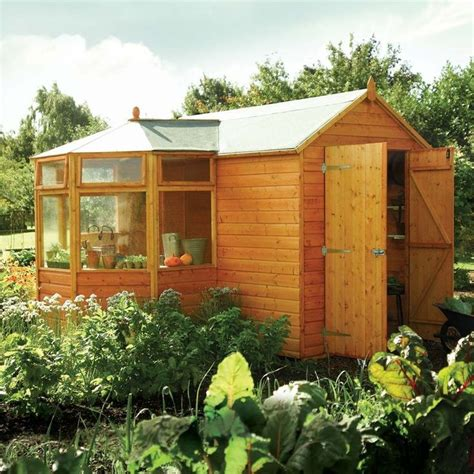 Greenhouse Garden Shed Combo by 25 Trending Greenhouse Shed Ideas On Outdoor
