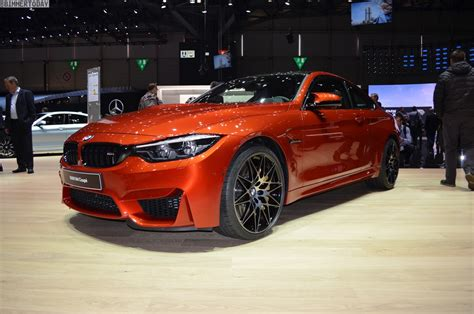 orange cars 2017 bmw m4 competition package gets m performance parts as well