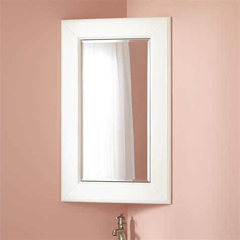 corner mirrors for bathrooms winstead corner medicine cabinet corner medicine