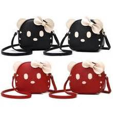 Bow Accent Cross Bag With Pouch beibaobao yesstyle