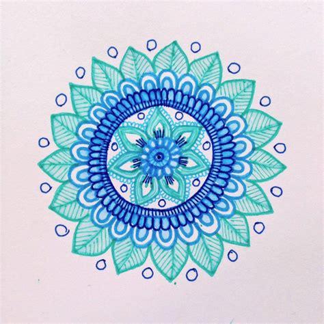 watercolor mandala tutorial magamerlina another mehndi inspired mandala tutorial