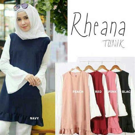 Baju Atasan Wanita Blouse Tunik Baju Muslim Amando Blouse 875 Best Images About Baju Muslim On