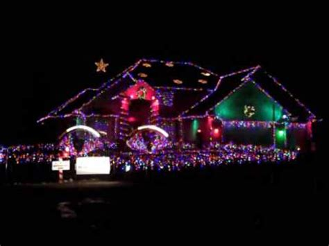 christmas house lights to music worlds best christmas light display to music youtube