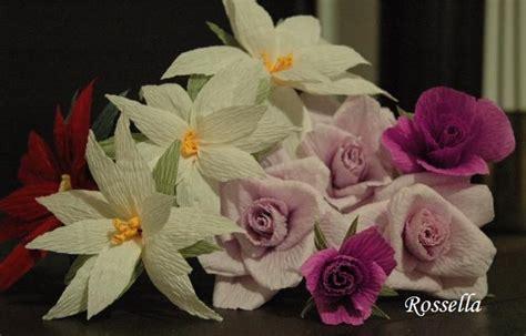 fiori sembrano di carta punto e a capo fiori di carta