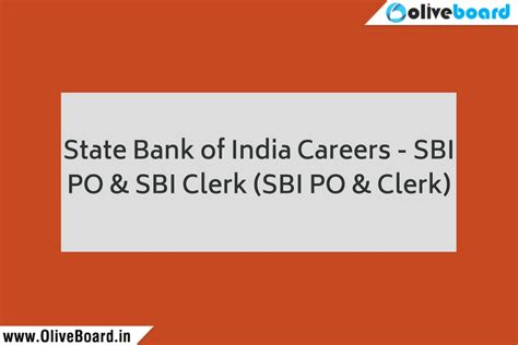 Status Of Mba Education In India by State Bank Of India Careers Growth And Promotion Sbi Po