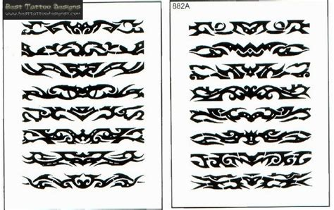tribal band tattoos designs armband tattoos page 25