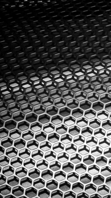 wallpapers 3d honeycomb wallpapers metal honeycomb the iphone wallpapers