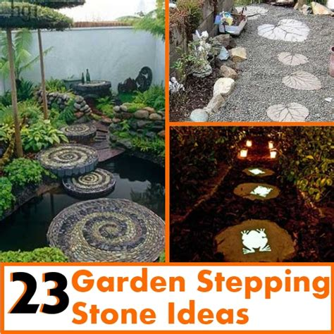 backyard stepping stone ideas 23 awesome garden stepping stone ideas diy home things