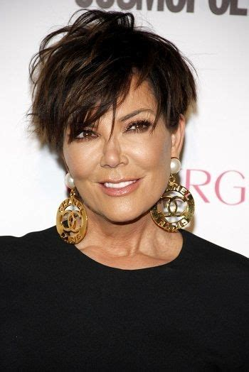 does kris jenner have thick hair shorts hairstyles for thick hair and thick hair on pinterest