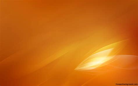 aero stream orange powerpoint template   backgrounds
