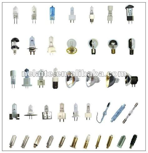bulb types incandescent light bulb types bulb types