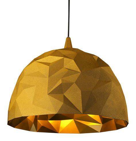 Designer Bathroom Accessories rock pendant gold by diesel with foscarini