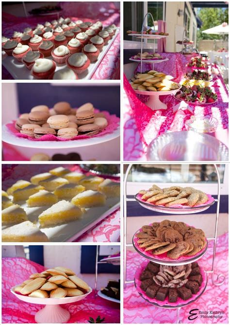 bridal shower desserts recipes tea bridal shower amazing dessert table from www thepinkflour entertaining tea
