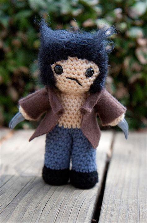 amigurumi wolverine pattern 59 best crochet super hero hats images on pinterest