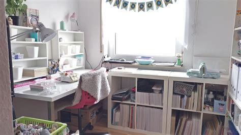 Bastelzimmer Einrichten by Mein Neues Bastelzimmer Craftroom Makeover