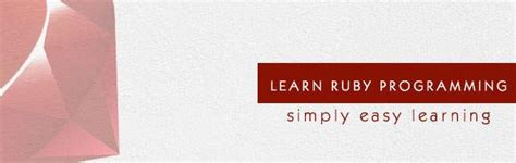 tutorialspoint ruby image gallery ruby tutorials