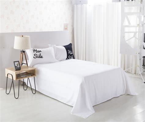 Side His Side Comforter by Black And White His Side Side Duvet Cover Pillowcases