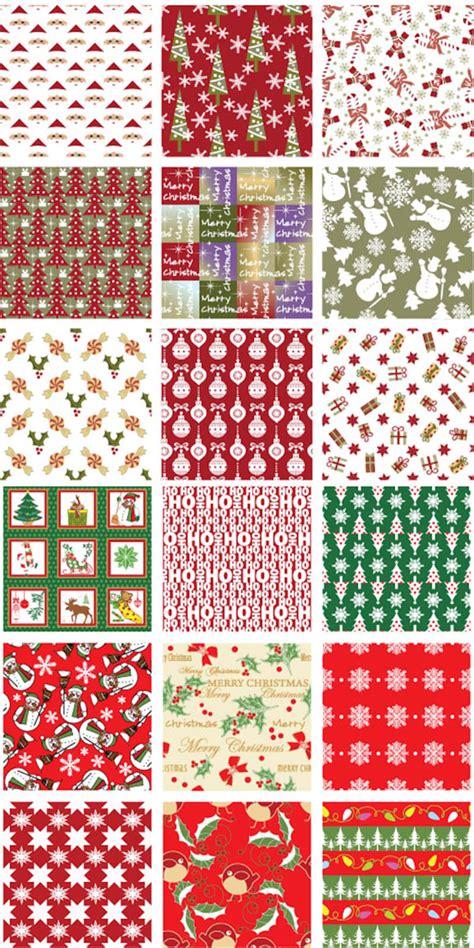 xmas pattern illustrator クリスマスのデザイン役立つフリー素材 無料のillustrator用シームレスパターン200 co jin