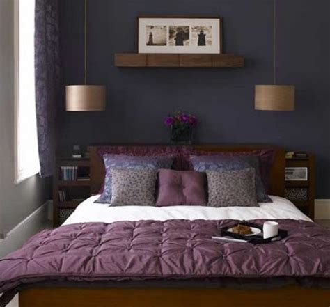 Purple And Grey Bedroom by Purple Accents In Bedrooms 51 Stylish Ideas Digsdigs