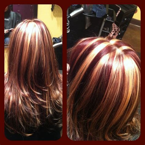 chunking highlights dark hair pictures chunky highlights for dark hair chunky highlight hair