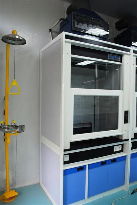 Chemical Cabinet Lemari Asam Fume Hood Based On Wooden Structure