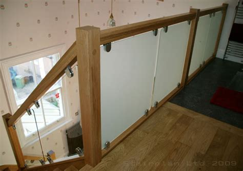 Glass Banisters Cost Glass Balustrading Oak Handrail With Glass Toughened Glass
