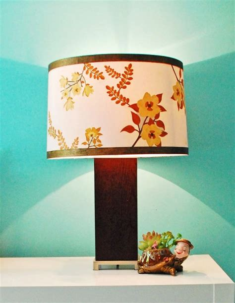 how to make decoupage medium mid century inspired lshade with martha stewart crafts