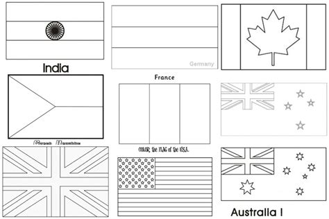 Spanish Speaking Countries Flags Coloring Pages Free World Flags Coloring Pages