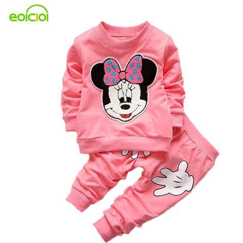 eoicioi autumn minnie baby clothing sets clothes bebe sleeve cotton set t