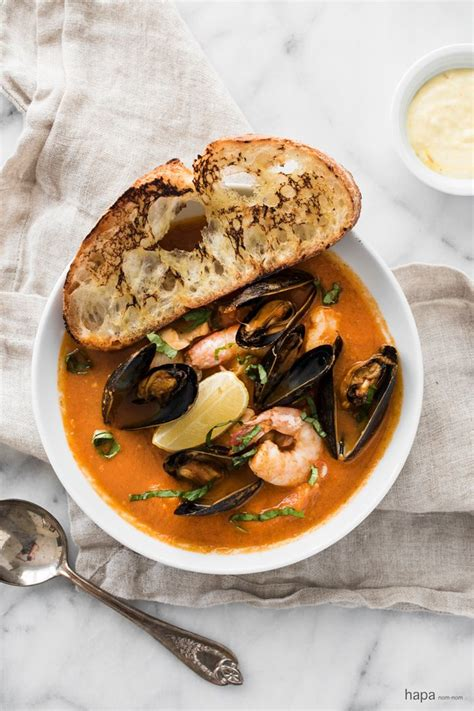 easy bouillabaisse recipe easy french recipes food