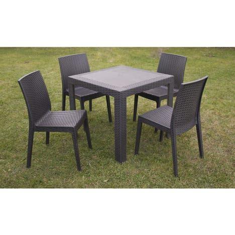 table jardin auchan spa 4 personnes pas cher maison design wiblia