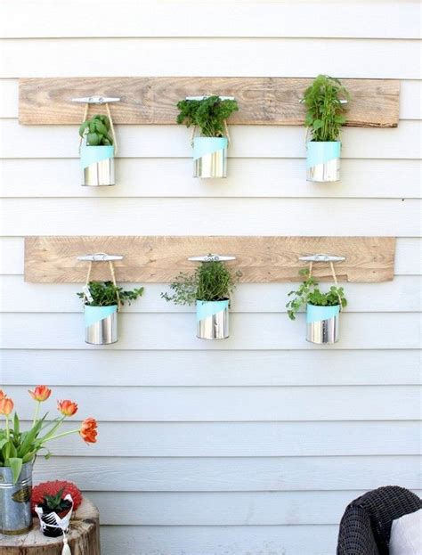 herb garden diy diy hanging herb garden do it myself pinterest