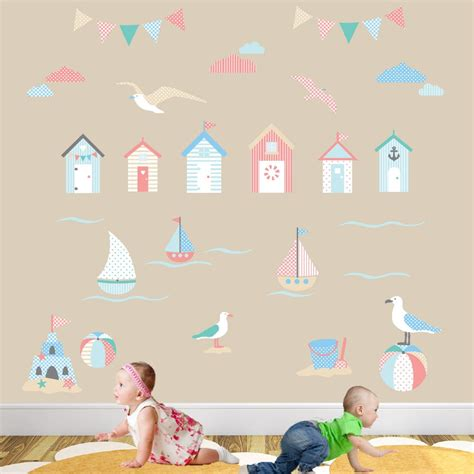 Seaside Wall Stickers beside the seaside nursery wall stickers