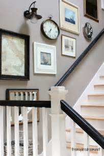 Stair Photo Gallery by Stairway Gallery Wall Mixing It Up The Inspired Room