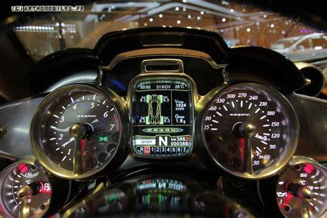 pagani interior dashboard eclectic astronauts planes and pagani zonda