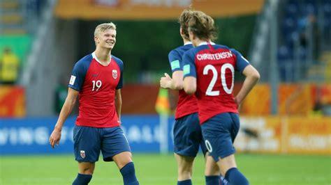 haaland scores   norway   world cup