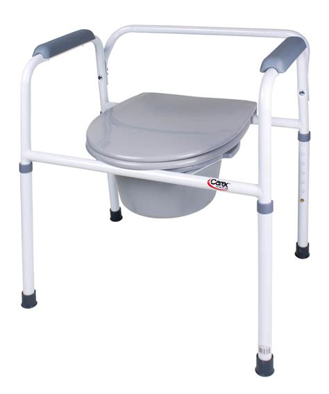 Bed Side Commode by Bath Safety Commodes Accessories Commodes Bedside Steel