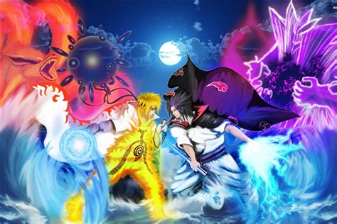 L Best Price 3d Wall Sticker Model Bahan Kayu Ringan compare prices on sasuke wallpapers