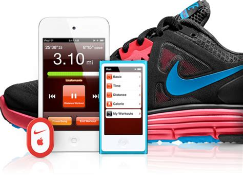 Nike To Roll Out Ipod Nano Integration On All Shoes By End Of Year by Apple United Kingdom Run Or Workout With Nike Ipod