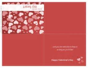 valentines day card templates thank you printable letter template new calendar