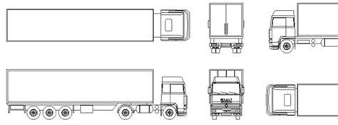 portata autotreno camion dwg