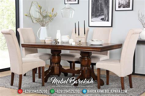Meja Makan Mewah 100 set meja makan jati minimalis set meja makan kayu jati solid jual furniture jepara