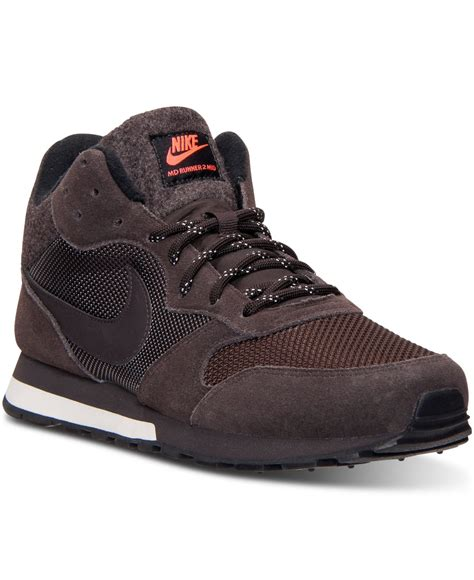 Nike Md Runner Brown nike s md runner 2 mid casual sneakers from finish